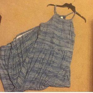 Dresses & Skirts - Blue stripe maxi